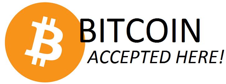Bitcoin hier geaccepteerd betalen