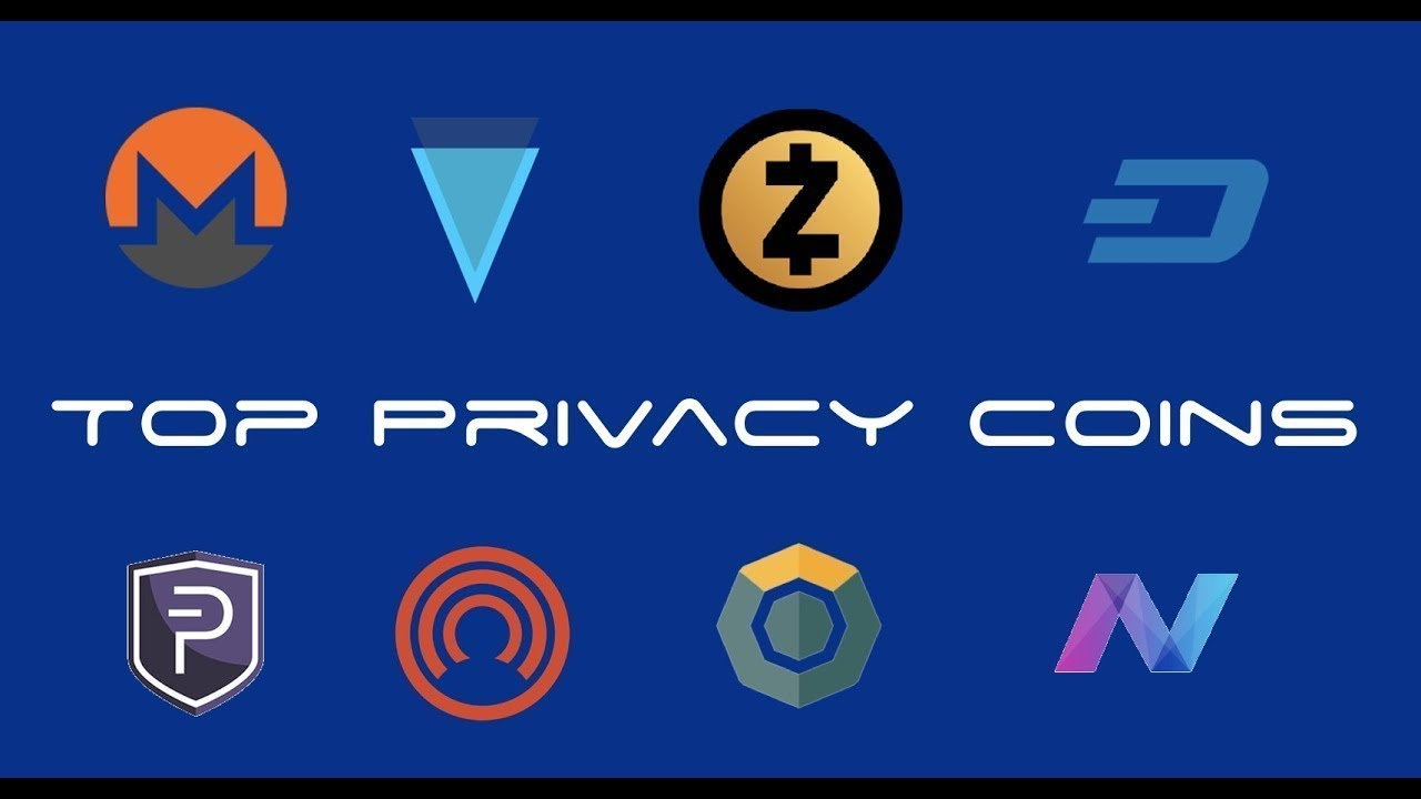 Privacy munten verge zcash bitcoin crypto anoniem veilig