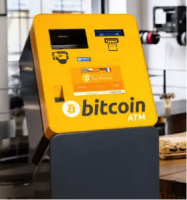 Bitcoin, ATM, pinautomaat, cryptocurrency