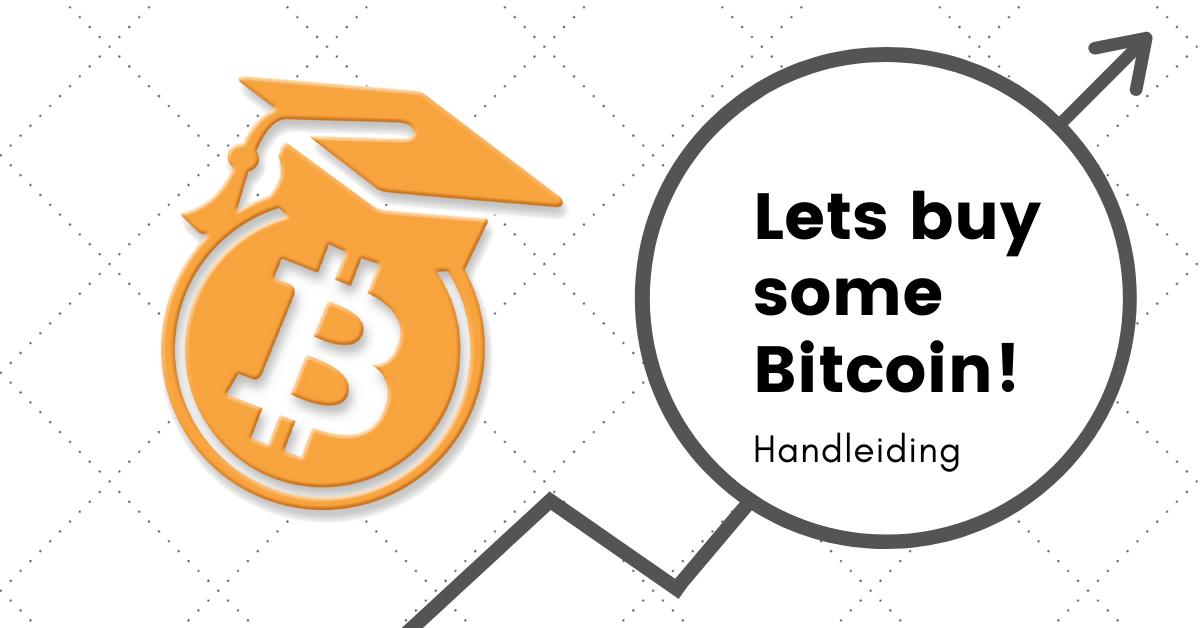 Bitcoin kopen handleiding intro afbeelding